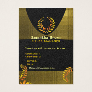 Laurel Wreath Attorney   Paralegal Business Cards
