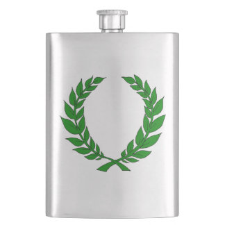 Laurel Wreath Flask