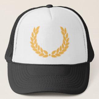 Laurel Wreath Gold Trucker Hat