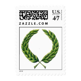 Laurel Wreath Postage Stamps
