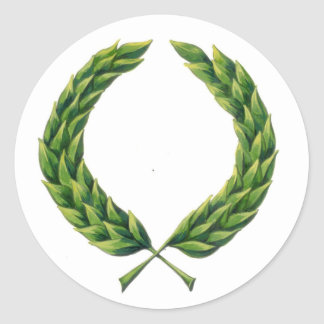 Laurel Wreath Stickers