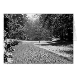 Laurelhurst Park Winter Stroll Card