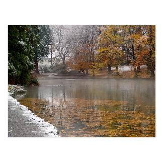 Laurelhurst Pond Postcard