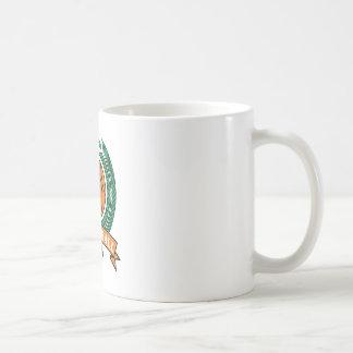 laurels basketball design coffee mug