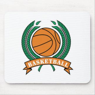 laurels basketball design mouse pad