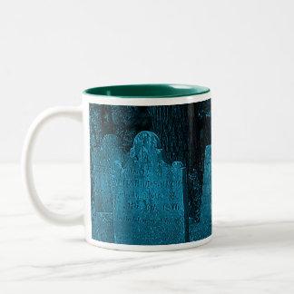 Laurelton Cemetery Two-Tone Coffee Mug