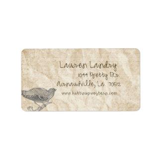 Lauren Landry Custom Address Labels
