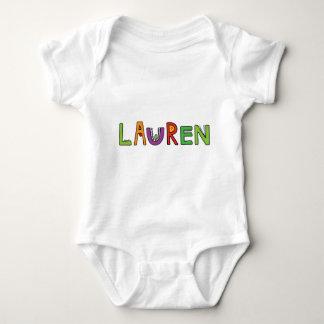 """""""Lauren"""" Monster Letters T-shirt"""
