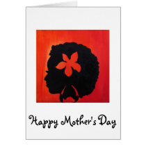 """""""Lauren"""" Mother's Day Card by Alicia L. McDaniel"""