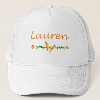 Lauren (Orange Butterfly) Trucker Hat