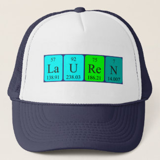 Lauren periodic table name hat