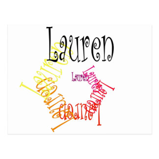 Lauren Postcard