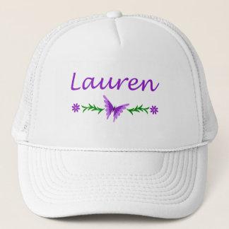 Lauren (Purple Butterfly) Trucker Hat