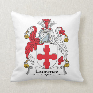 Laurence Family Crest Pillow