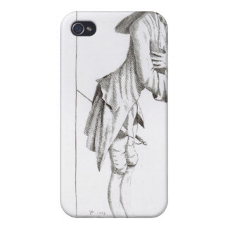 Laurence Sterne iPhone 4/4S Carcasas
