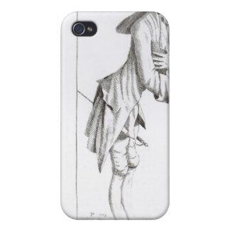 Laurence Sterne iPhone 4 Funda