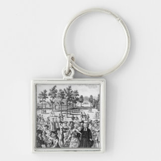 Laurence Sterne Keychain