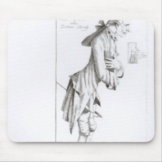 Laurence Sterne Mouse Pad