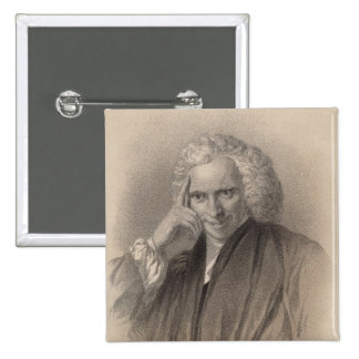 Laurence Sterne Pin Cuadrada 5 Cm