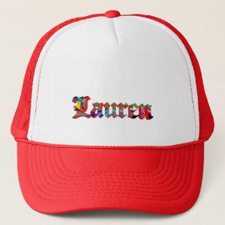 Lauren's mesh cap