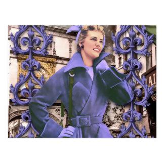 LAURICE EN PARÍS, MODA del FRANCÉS de los años 50 Postales