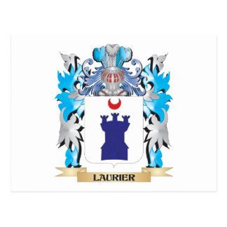 Laurier Coat of Arms - Family Crest Post Cards