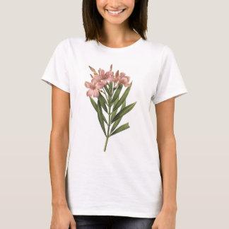 laurier rose (Nerium sp.) by Redouté T-Shirt