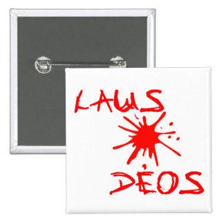 Laus Deos - Praise God Christian Wear Pin