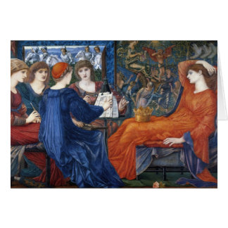 laus Veneris fine art Greeting Card