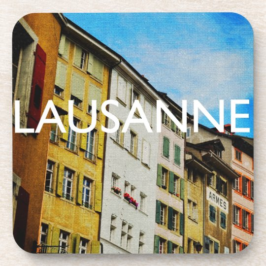 Lausanne Beverage Coaster
