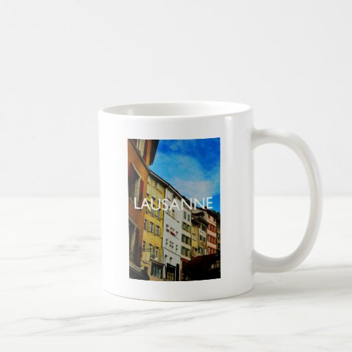 Lausanne Classic White Coffee Mug