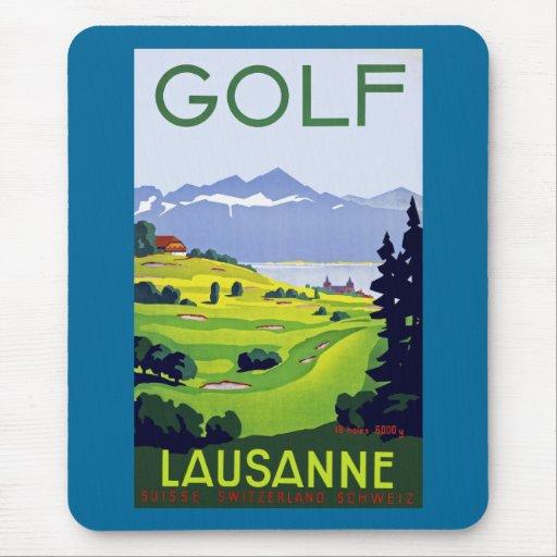 ~ Lausanne del golf Alfombrilla De Raton