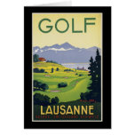 Lausanne Golf Greeting Cards