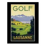 Lausanne Golf Post Card