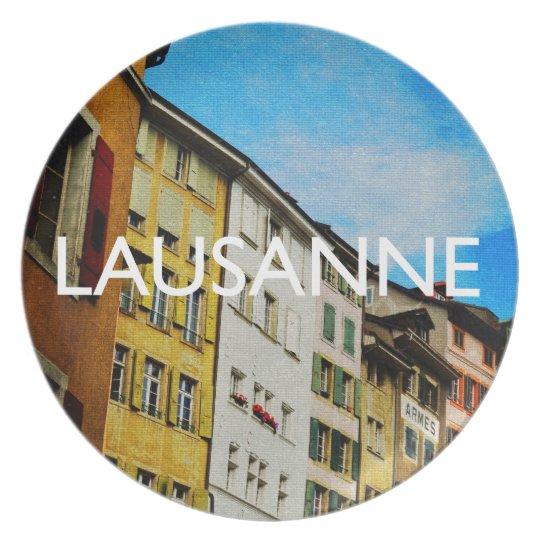 Lausanne Melamine Plate