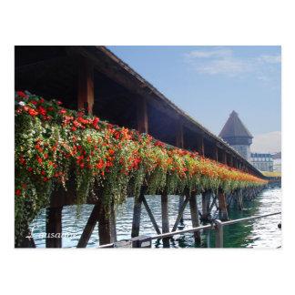 Lausanne Postcard