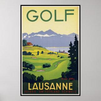 Lausanne Switzerland Posters
