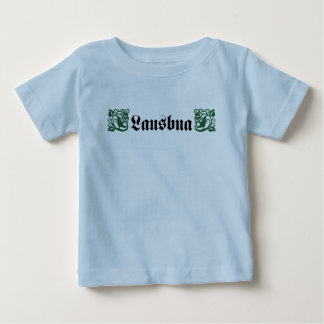 Lausbua for gentlemen and boy Trachtenstyle Baby T-Shirt