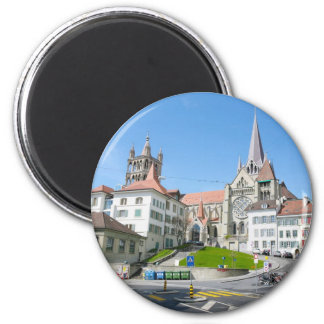 Laussane town magnet