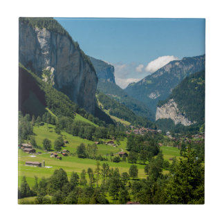 Lauterbrunnen  - Bernese Alps - Switzerland Ceramic Tile