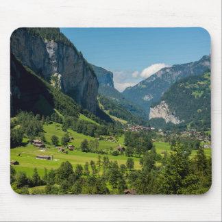 Lauterbrunnen  - Bernese Alps - Switzerland Mouse Pad