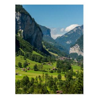 Lauterbrunnen  - Bernese Alps - Switzerland Postcard