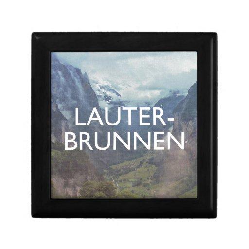 Lauterbrunnen Cajas De Regalo