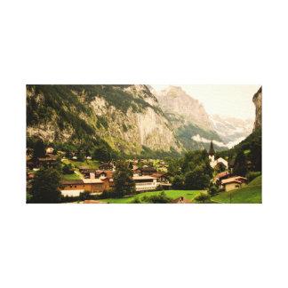 Lauterbrunnen Canvas Print
