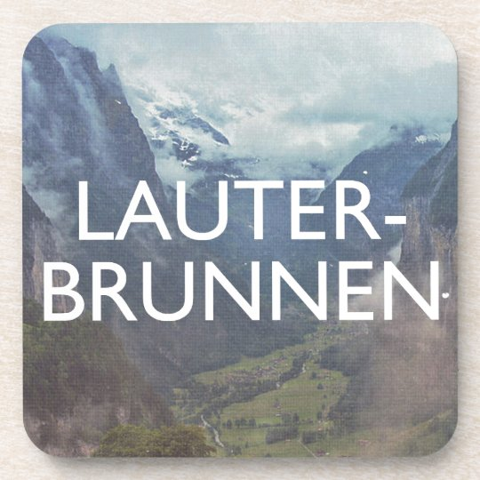 Lauterbrunnen Drink Coaster