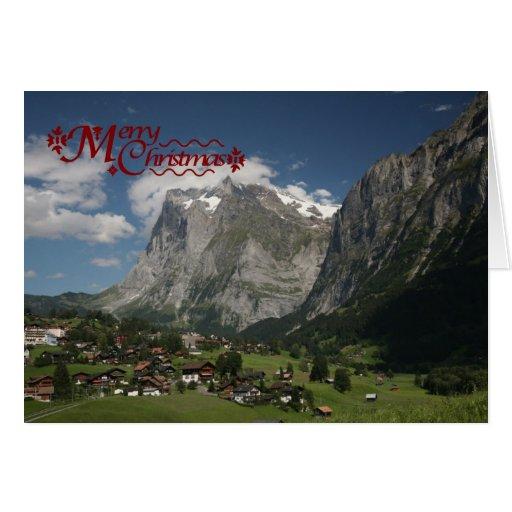 Lauterbrunnen, región de Jungfrau Tarjeta De Felicitación