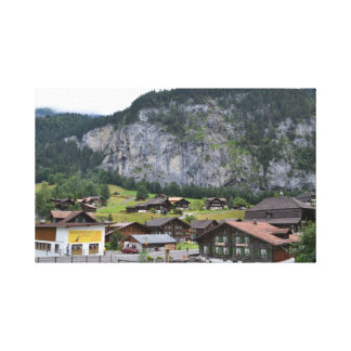 Lauterbrunnen, Suiza Impresiones En Lienzo Estiradas