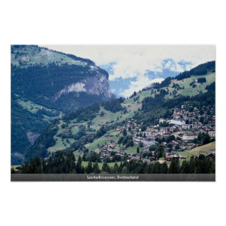 Lauterbrunnen, Suiza Posters