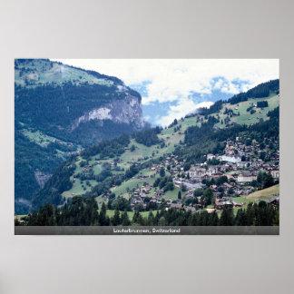 Lauterbrunnen, Suiza Póster