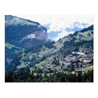 Lauterbrunnen, Suiza Tarjeta Postal